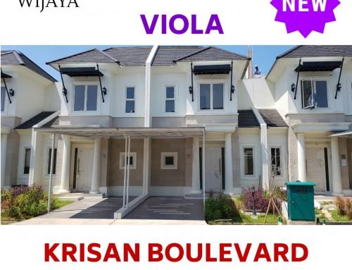 New Viola dan New Krisan Rumah Gaya Baru di Cluster Yang Telah Mapan