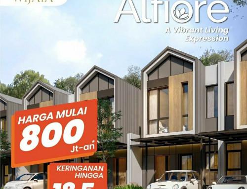 Cluster ALFIORE Banjar Wijaya Harga 800jt-an