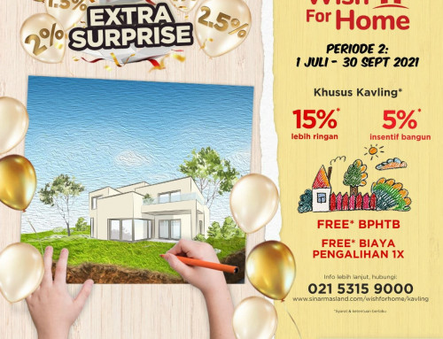 Program WISH FOR HOME Periode ke-2 di Banjar Wijaya Sinarmas Land